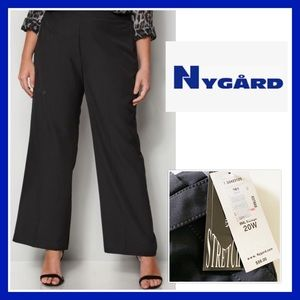 NWT; Nygard Black straight leg Pants